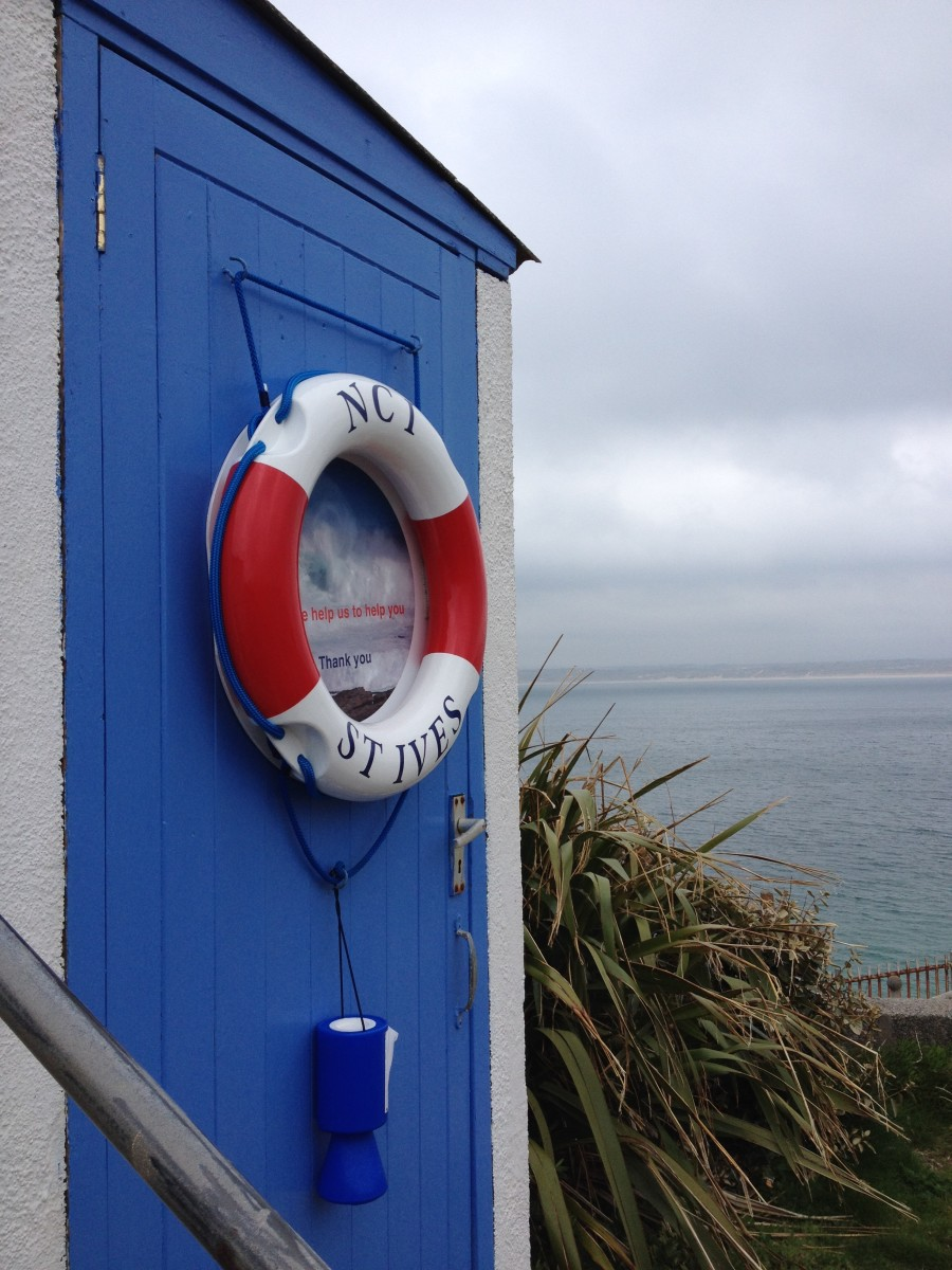 St Ives Island Life Buoy