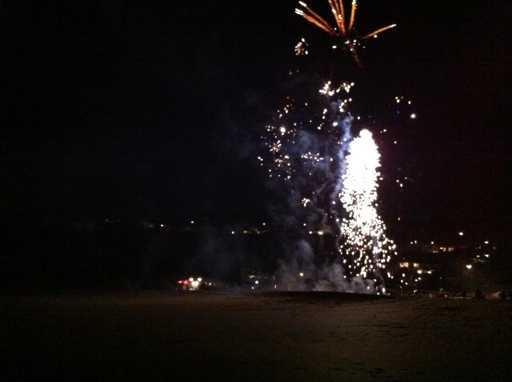 Fireworks on Porthminster