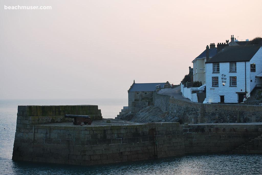 Porthleven Harbour Ship Inn Pub
