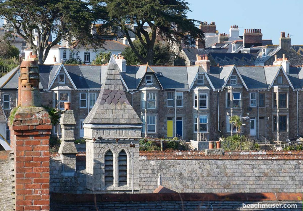 St Ives Roof tops and doors