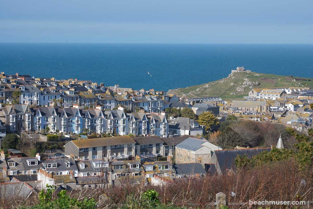 St Ives Houses and Roof Tops