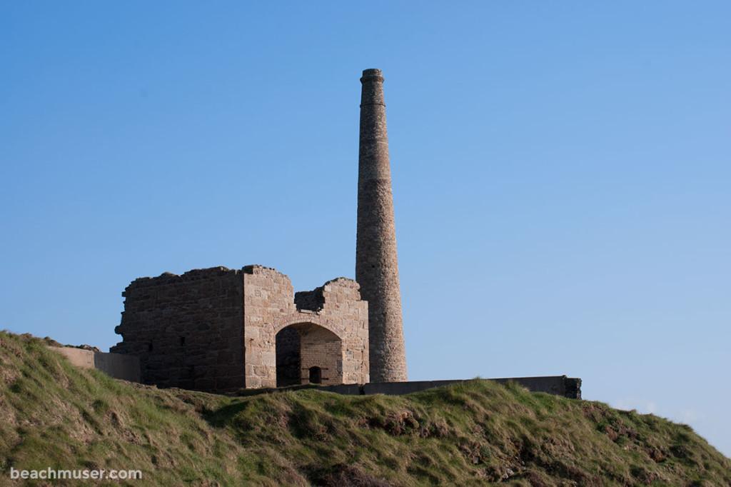 Botallack Chimney Ruin