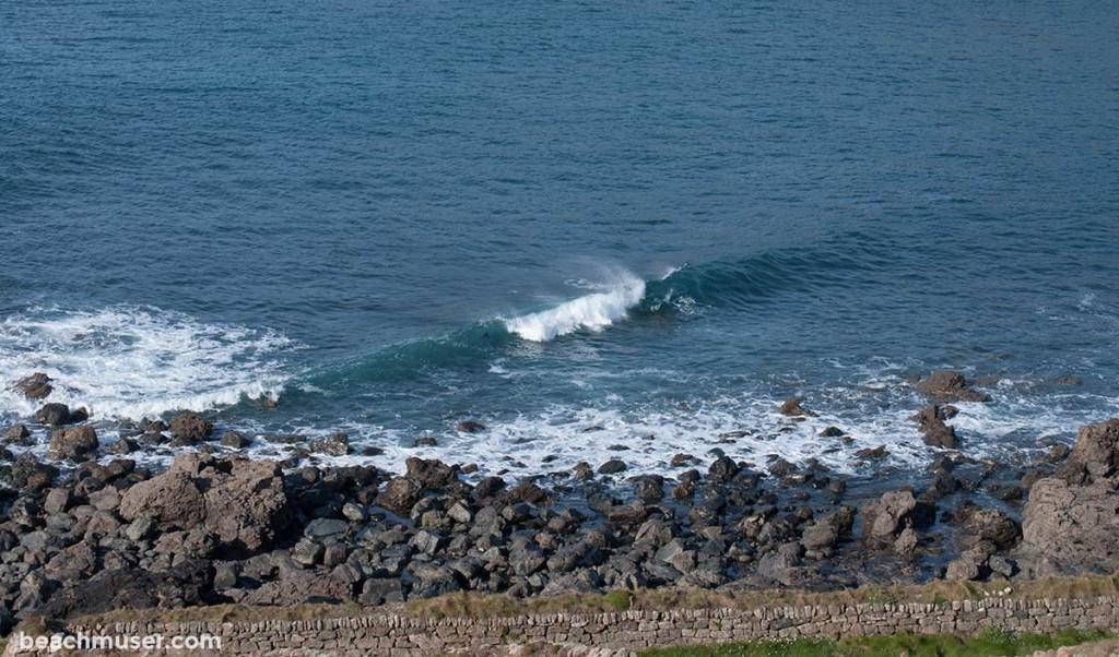 Cape Cornwall Diagonal Wave