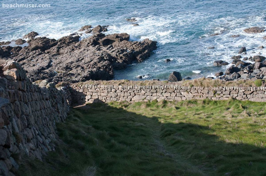 Cape Cornwall Walled Corner