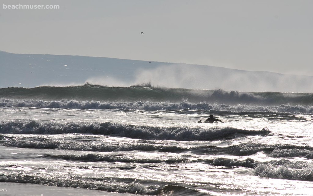 Godrevy Paddling Out