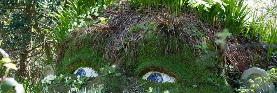 Lost Gardens of Heligan in Spring 2015