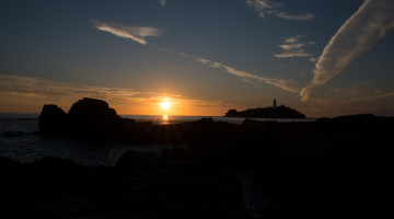 Dove Godrevy Sunset