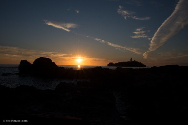 Dove Godrevy Sunset