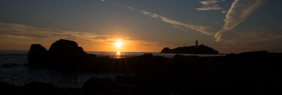 Sunset at Godrevy Lighthouse