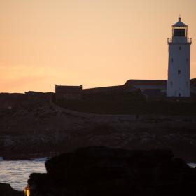 Godrevy Lighthouse Sunset