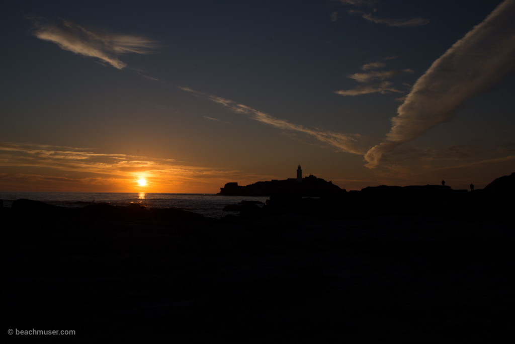 Godrevy Lighthouse White Dove Cloud