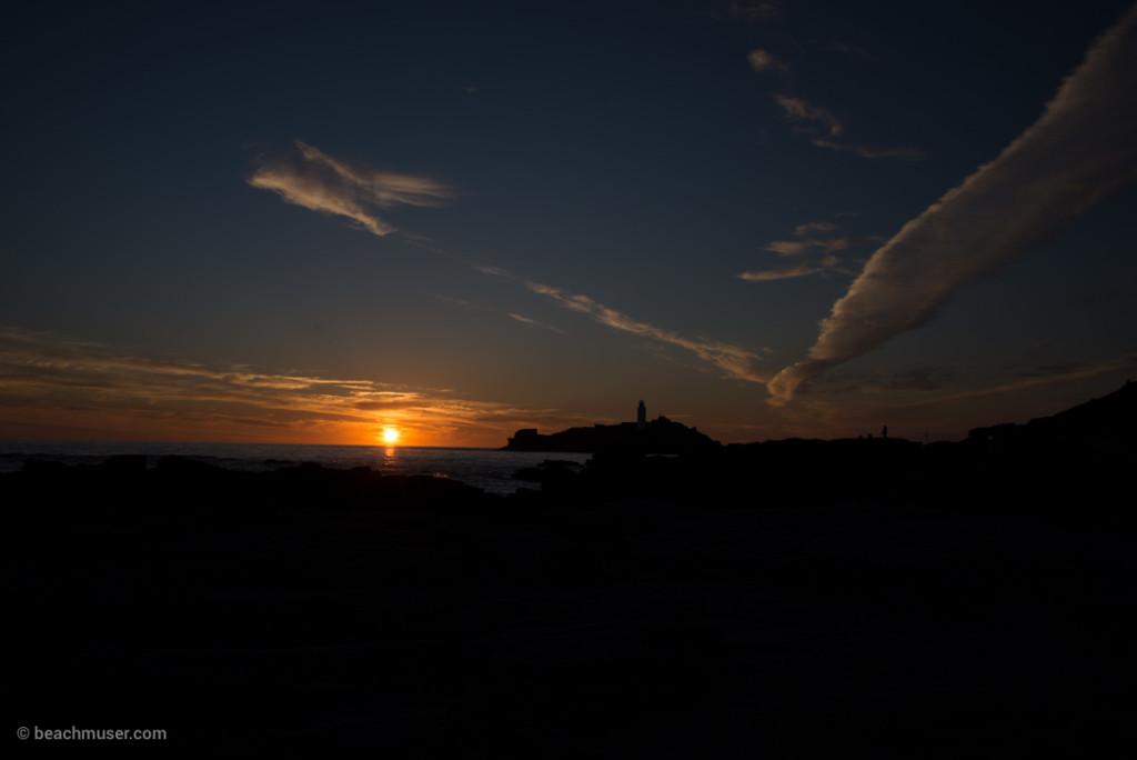 Lighthouse Silhouette Dove Sunset