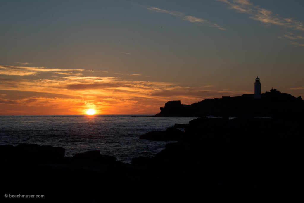 Sunset at Godrevy