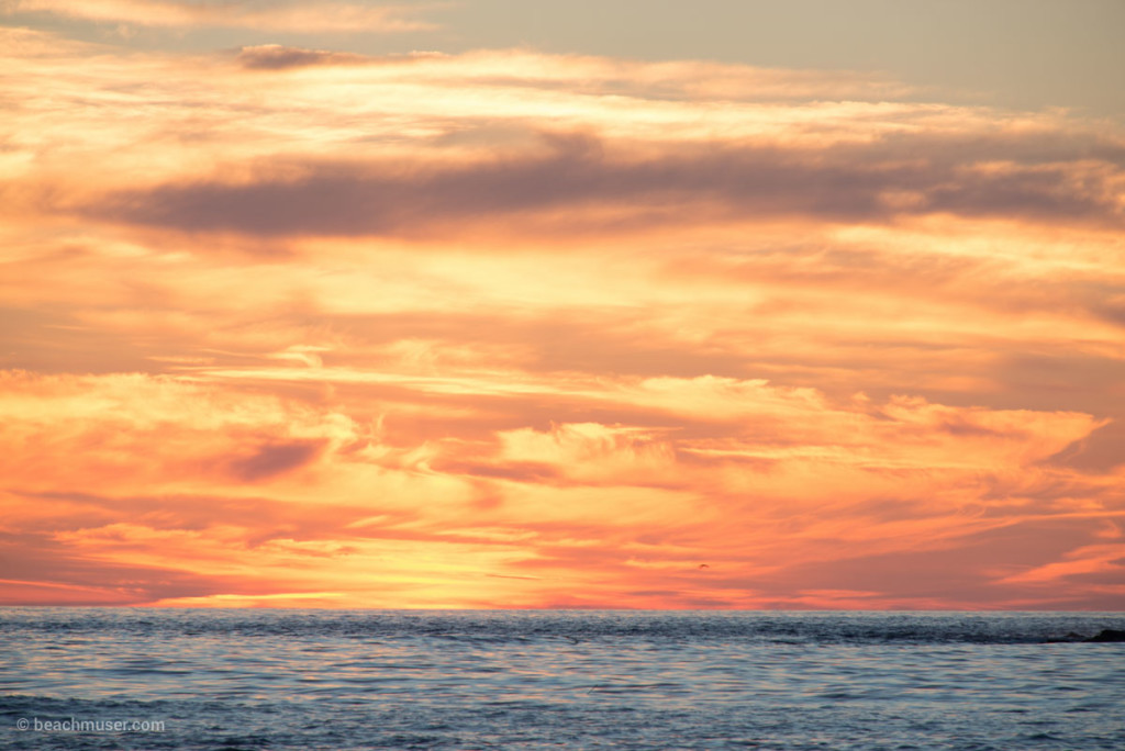 Sunset Fire Sky